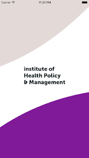 Health Policy & Management App - screenshot
