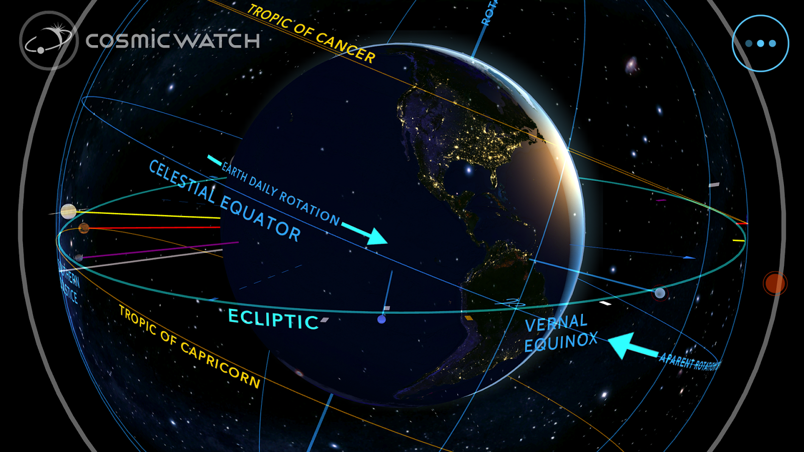 Cosmic-Watch Screenshot 5
