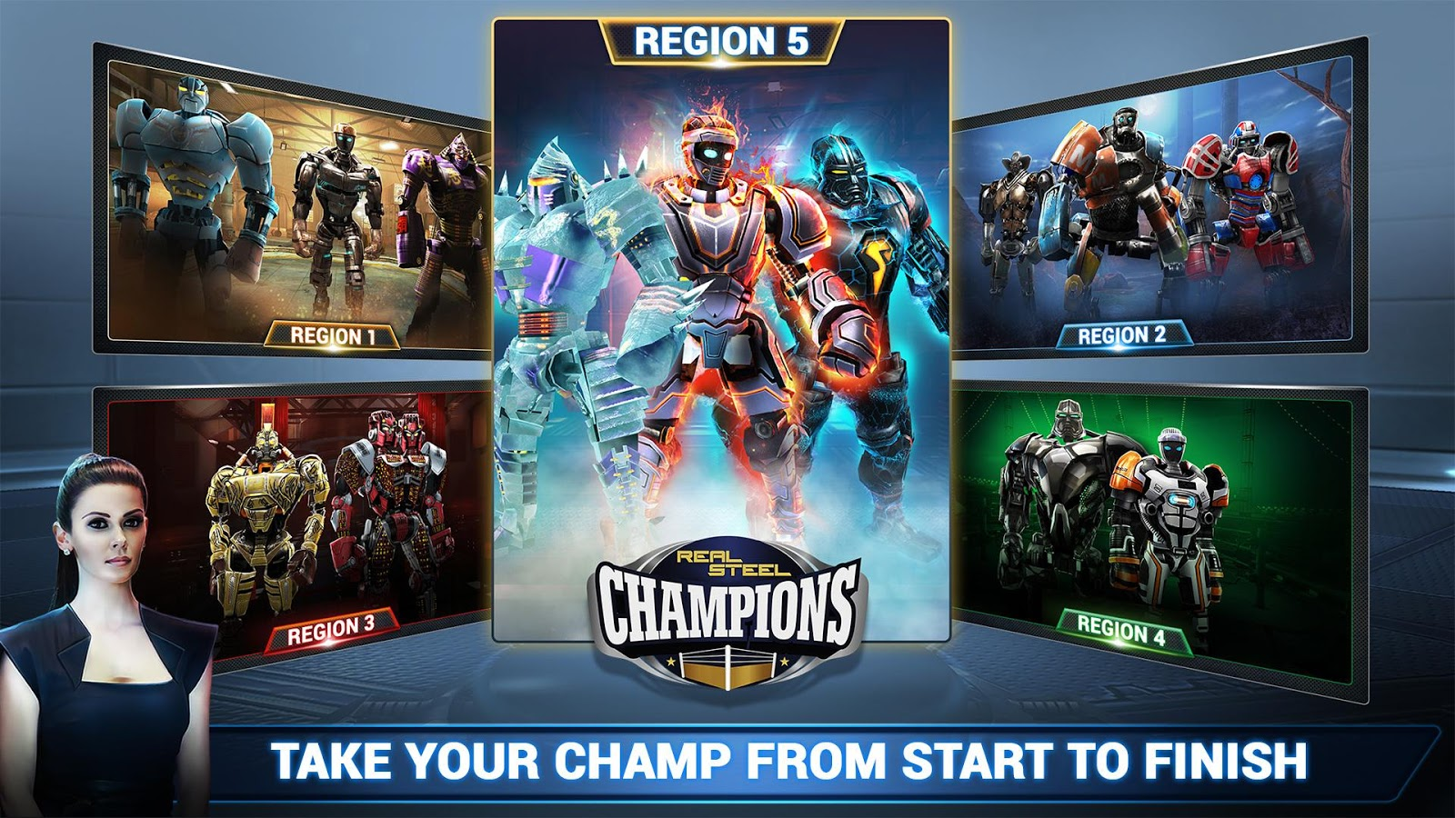 Real Steel Boxing Champions Screenshot 5