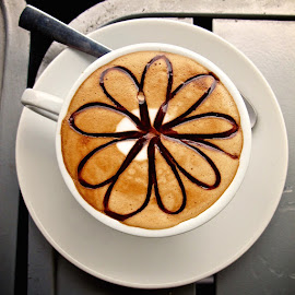coffee time by Donna Racheal - Food & Drink Alcohol & Drinks ( flat white, cappuccino, coffee cup, latte, coffee time )