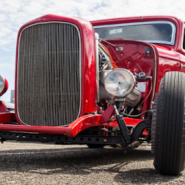 Red delight by Trevor Bond - Transportation Automobiles
