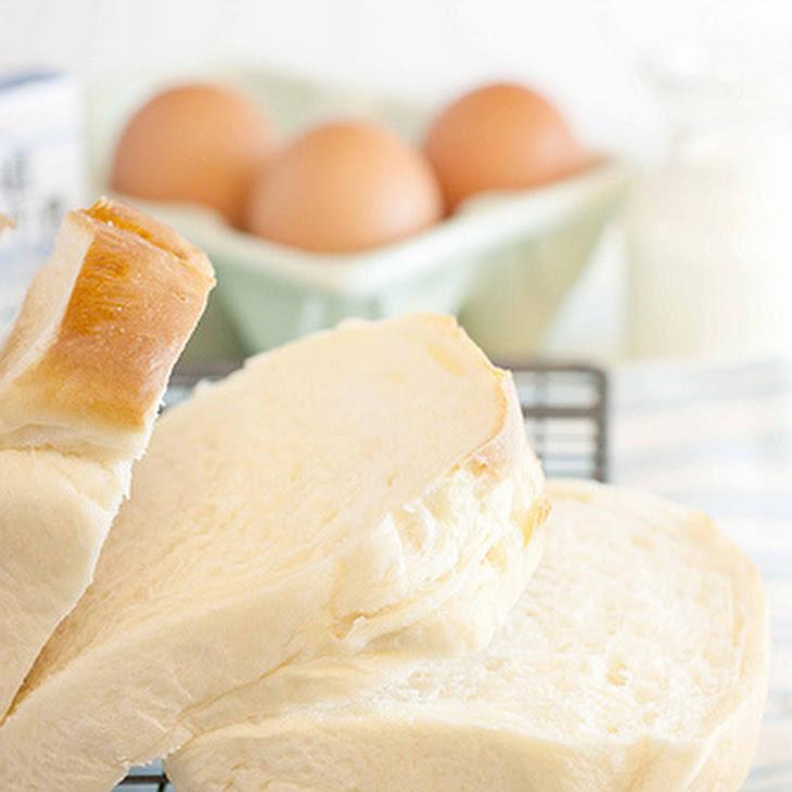 Hokkaido Milk Loaf (Hokkaido Milk Bread) – My First Bread Loaf….