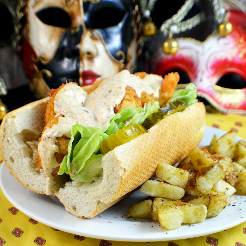 Shrimp Po'Boy with Rémoulade Sauce | Mardi Gras Recipes