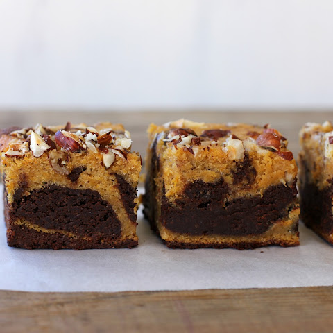 Spiced Pumpkin Chocolate Brownie