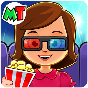 My Town : Cinema. Fun Movistar Kids Movie Night Online PC (Windows / MAC)