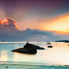 Bebilaian's Panoramicly by Eddie Cheever - Landscapes Weather ( landscape, belitung )