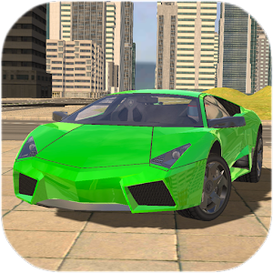 Extreme Car Driving Simulator 2017 Icon