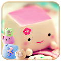 APK App Marshmallow Candy Face Theme for BB, BlackBerry