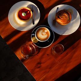 saturday by Muhammad Iqbal - Food & Drink Eating ( still life, food, coffee, eating, cookies )