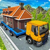 House Mover: Old House Transporter Truck