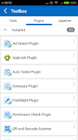 Screenshot of AppLock Plugin