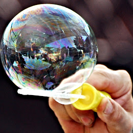 Bubble Balance by Don Mann - Artistic Objects Other Objects