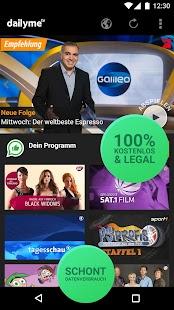 dailyme TV, Serien & Fernsehen APK for Blackberry