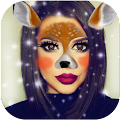 App Animal Face Sticker Pic Editor apk for kindle fire
