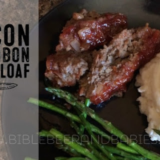 Bacon Bourbon Meatloaf