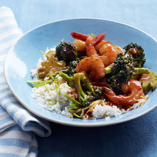 Shrimp and Broccoli Stir-Fry