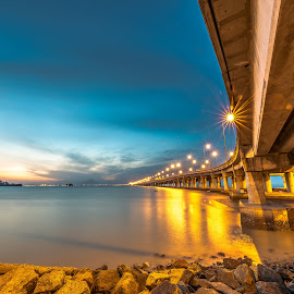 Penang Bridge by Lim Keng - Buildings & Architecture Bridges & Suspended Structures