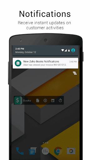 Accounting App - Zoho Books - screenshot