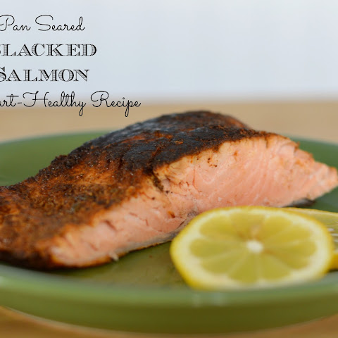 Heart-Healthy Pan Seared Blackened Salmon