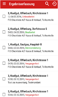 AUDITmobile - screenshot