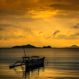 Old fishing boat by Lydia Sutanto - Transportation Boats (  )
