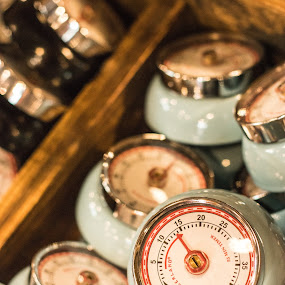 Time's Up by Debbie Jones - Artistic Objects Technology Objects ( magnolia market, time, market, timer, kitchen,  )
