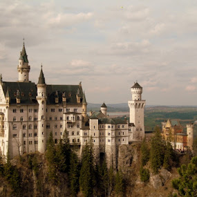 Neuschwanstein Castle by Gaurav Dhup - Buildings & Architecture Statues & Monuments ( castle, germany, disney, neuschwanstein, World, Beauty, Beautiful, Representing, Special, , landmark, travel, garyfonglandscapes, holiday photo contest, photocontest )