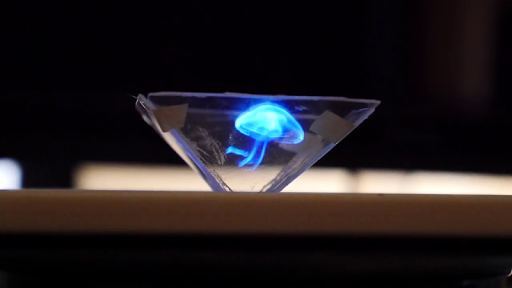 Vyomy 3D Hologram Projector - screenshot