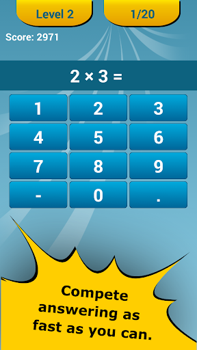 Math Challenge - Brain Workout - screenshot