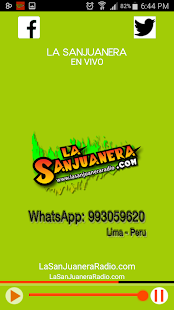 La Sanjuanera Radio - screenshot