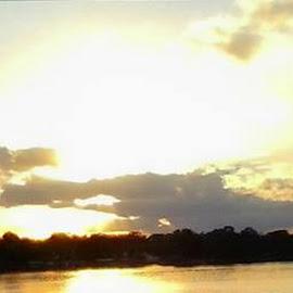 Drive Home by Karen Hodges - Landscapes Sunsets & Sunrises