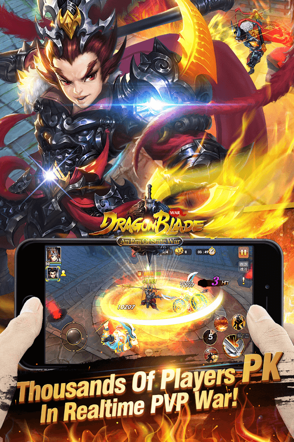 Dragon Blade - New Version War Screenshot 9