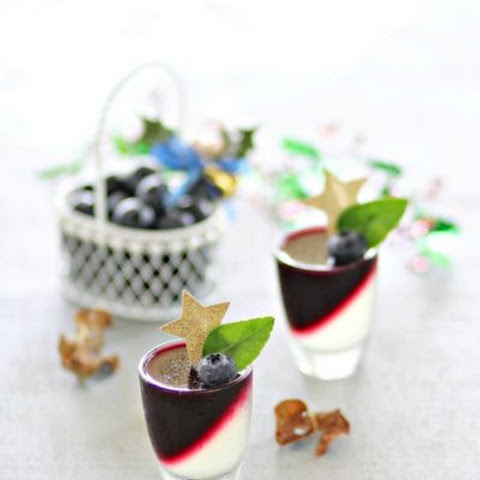 Blueberry Lime Jelly 蓝莓酸柑果冻