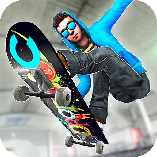 Subway Skateboard Ride Tricks - Extreme Skating