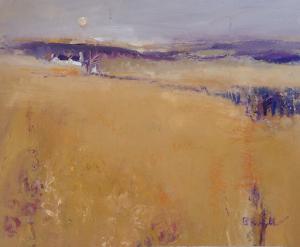 """An Ichre Landscape Oil 24x20"""""""
