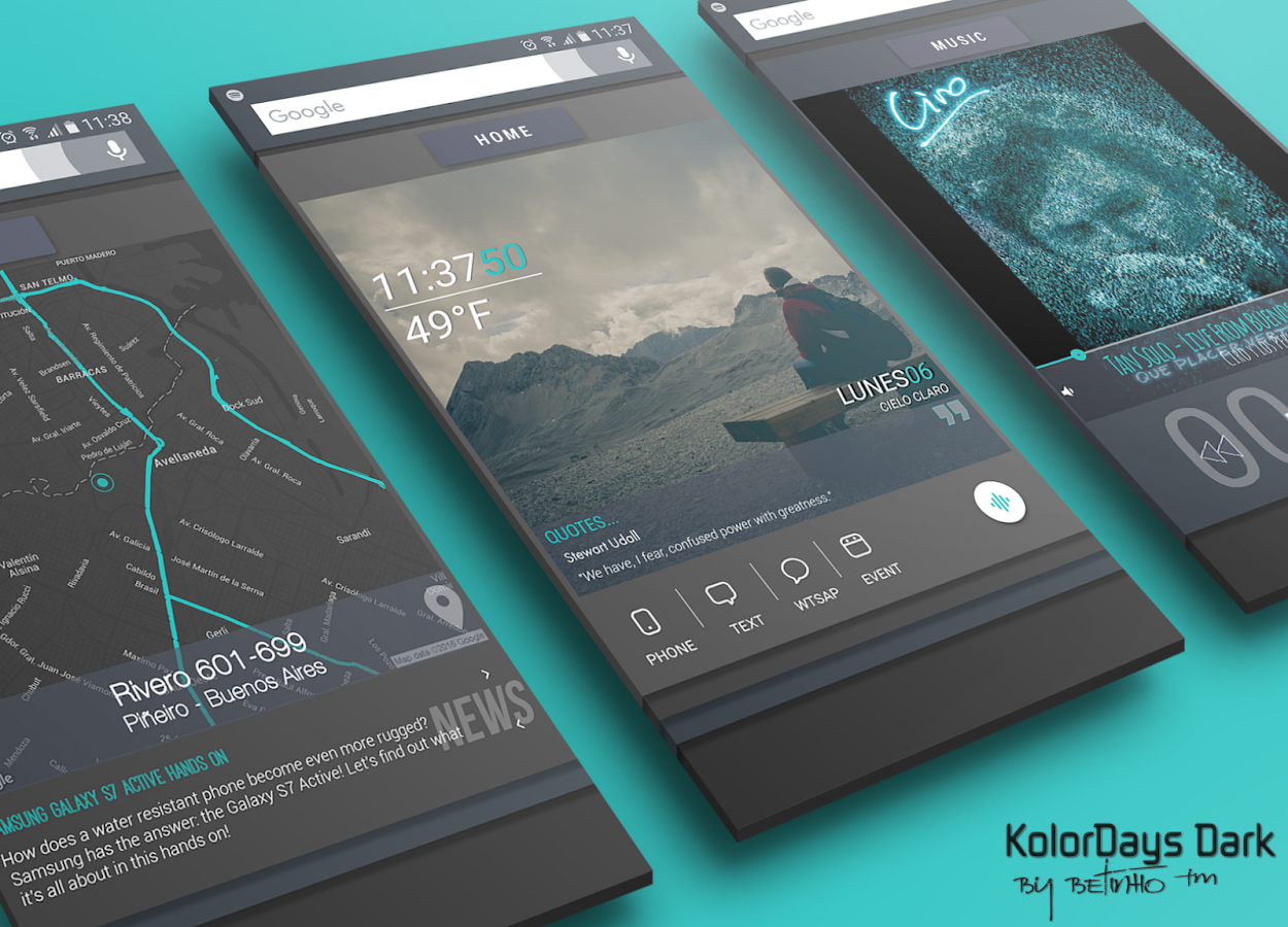KolorDays for Klwp Screenshot 6