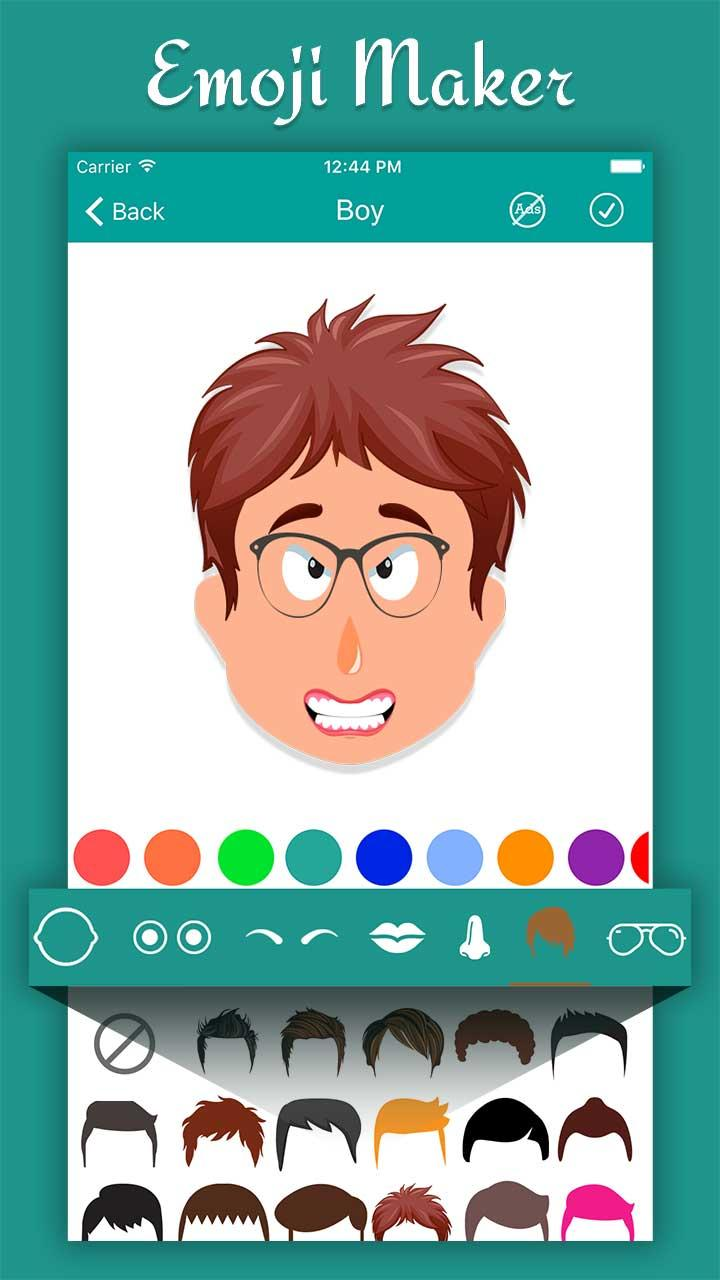 Emoji Maker - Your Personal Emoji Screenshot 2