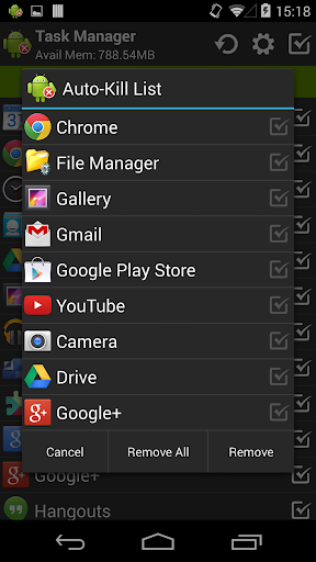 Task Manager (Task Killer) screenshot 3