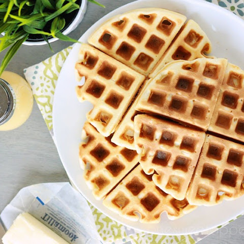 the secret to perfect Belgian waffles