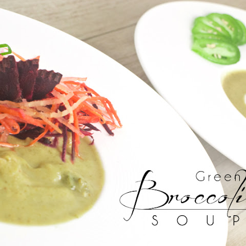 Green Curry Broccoli Soup - Pt.1 - Creamy