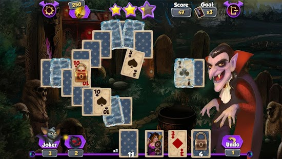 Bewitched Solitaire- screenshot thumbnail