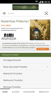 Ayurveda Shop - screenshot
