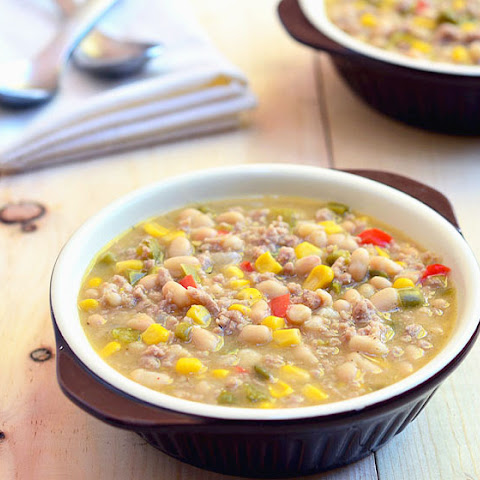 White Lightning Turkey Chili