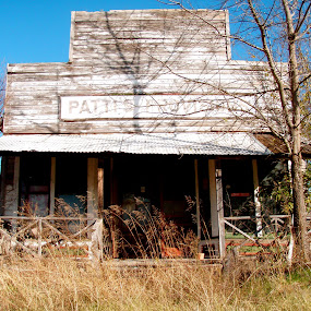 Patti's Provisions by Bryan Lowcay - Buildings & Architecture Decaying & Abandoned ( shop, store, texas, general store,  )