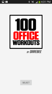 100 Office Workouts Champion Fitness app screenshot for Android
