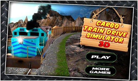 Cargo Train Drive Simulator 3D - screenshot