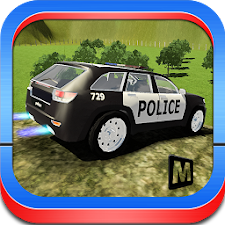 Offroad Police Car Stunts
