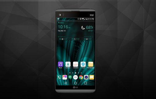 Teal Nights Theme LG V20 LG G5 For PC