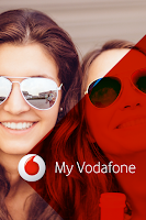 Screenshot of My Vodafone (GR)