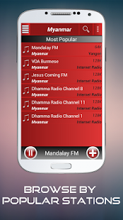 A2Z Myanmar FM Radio - screenshot